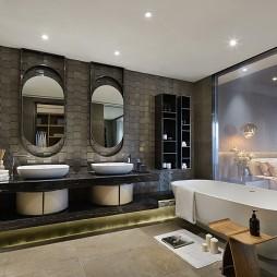 样板间浴室设计效果