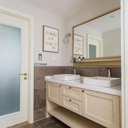 北欧四居洗手间设计