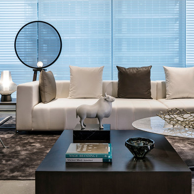 精致简欧别墅客厅设计