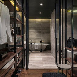 精致简欧别墅浴室设计