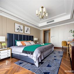 现代四居卧室设计