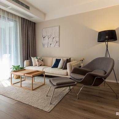 质朴现代客厅背景设计
