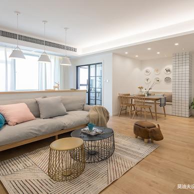 北欧三居客厅设计效果