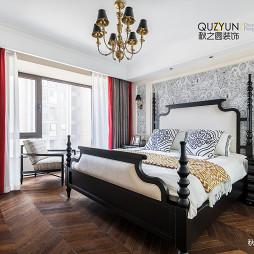 现代美式卧室设计效果
