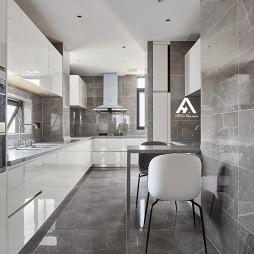 极简现代厨房设计