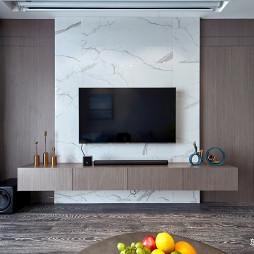 时尚现代电视背景墙设计图
