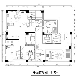 新科技市场办公室设计_3336333