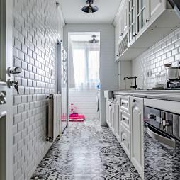 美式复古厨房设计图