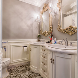 美式复古浴室设计图