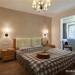简欧风格三居卧室设计