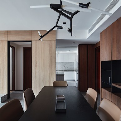 簡歐三居餐廳設計