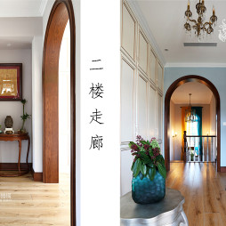 美式别墅走廊设计