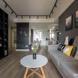 混搭二居客厅设计