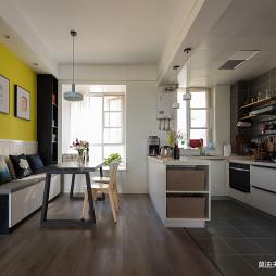 二居开放式厨房餐厅设计