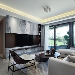 样板间客厅电视背景墙设计