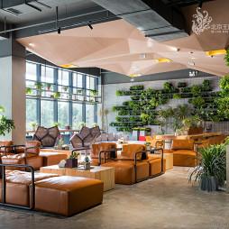 售楼中心办公区设计