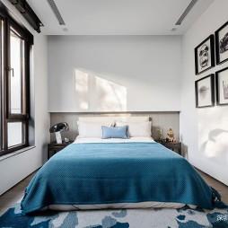 别墅样板房卧室设计欣赏