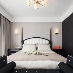 美式三居卧室