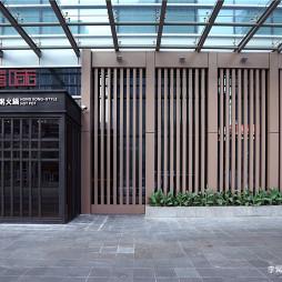港式粥火锅餐厅门头设计
