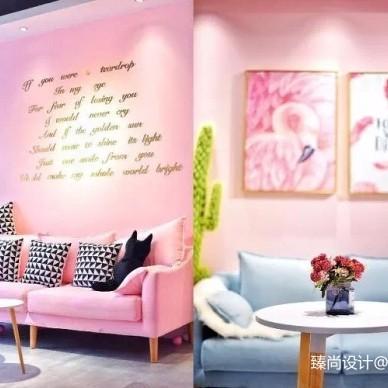 刷爆徐州人朋友圈的粉红茶店-臻尚设计涂艳果作品_3342133