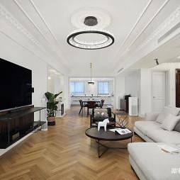 北欧四居客厅装修设计