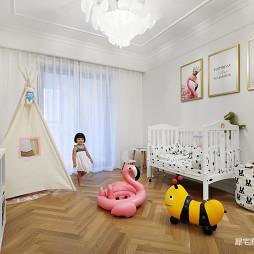 北欧四居儿童房装修设计