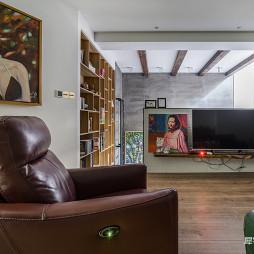 LOFT别墅电视墙设计