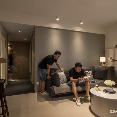室内住宅设计实景案例—《灞业大境78㎡》