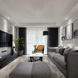 现代客厅装修设计图片
