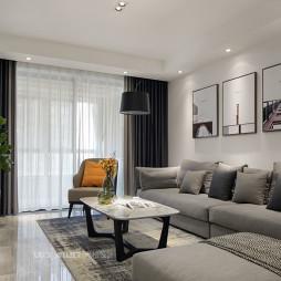 现代沙发背景墙装修设计图