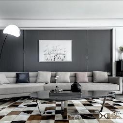 现代风沙发背景墙装修设计