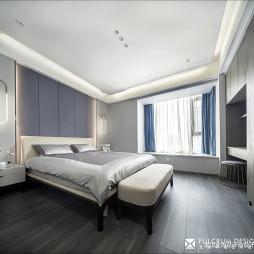 现代风卧室装修设计