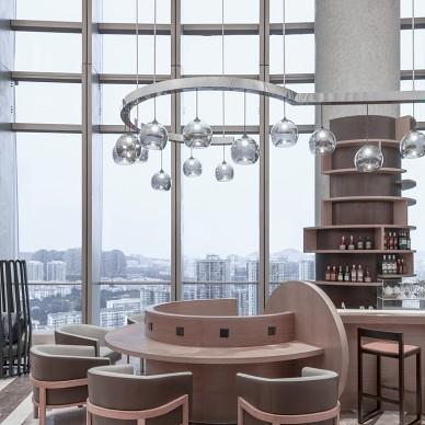 凯悦嘉轩酒店空间接待大堂设计图