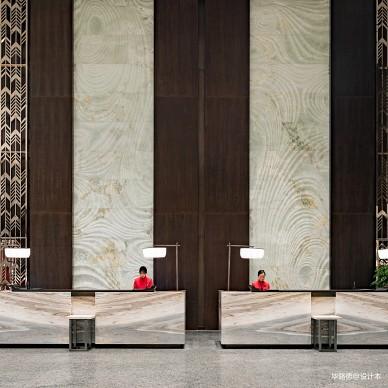无锡太华华邑酒店设计前台设计图