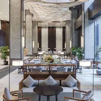 无锡太华华邑酒店设计酒店大堂设计图