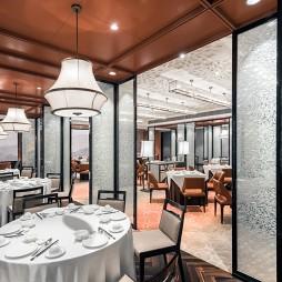 无锡太华华邑酒店设计中餐厅设计图