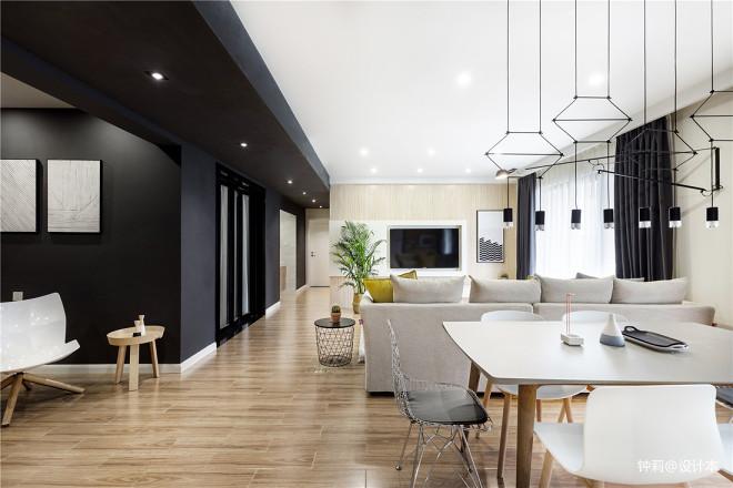 简约风格豪宅设计客餐厅设计图欣赏