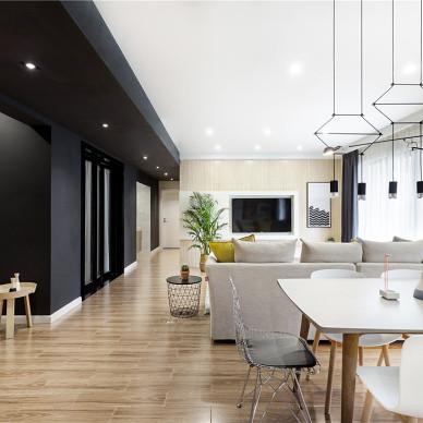 簡約風格豪宅設計客餐廳設計圖欣賞