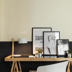 简约风格豪宅设计书房书桌设计图