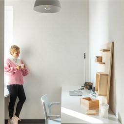 北欧风格复式书房设计图欣赏