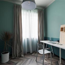 北欧风格复式书房休息区设计图