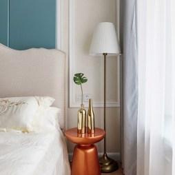 美式风格三居床头桌设计图