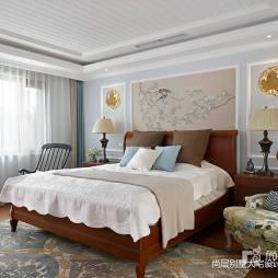 清梦满屋美式风别墅设计卧室设计图