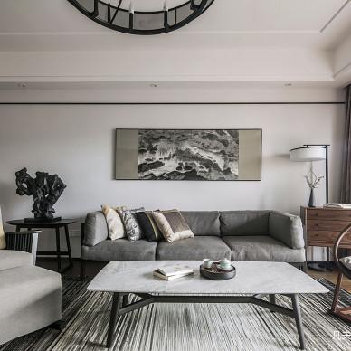 深圳鼎太风华私宅混搭三居室客厅设计图欣赏