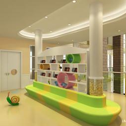 成都幼儿园装修设计案列 成都早教装修设计案列分享_3347001