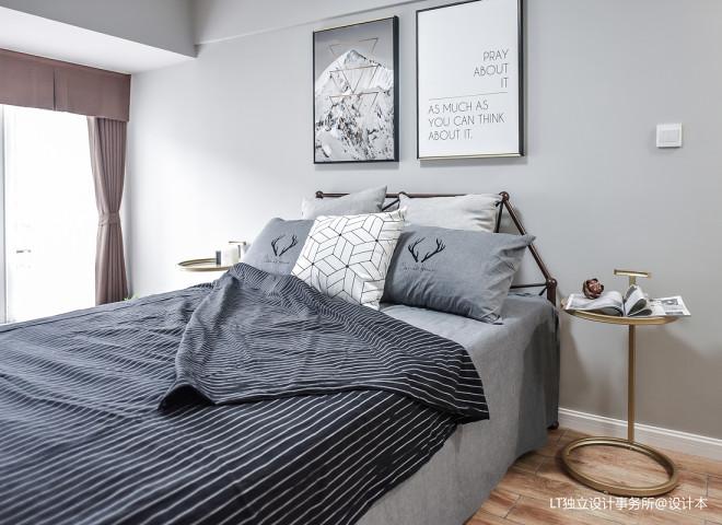 新一城北欧风格二居卧室设计图
