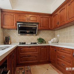 美式风别墅设计厨房设计图