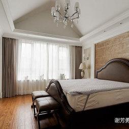 美式风别墅设计卧室设计图