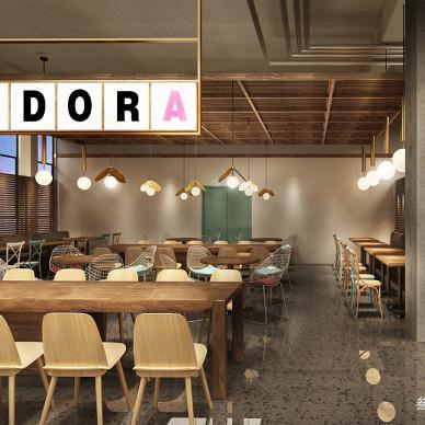 叁上叁空间设计【香港中文大学餐厅】_3348994