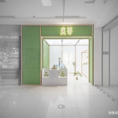 15平米的极简零食专卖店设计图